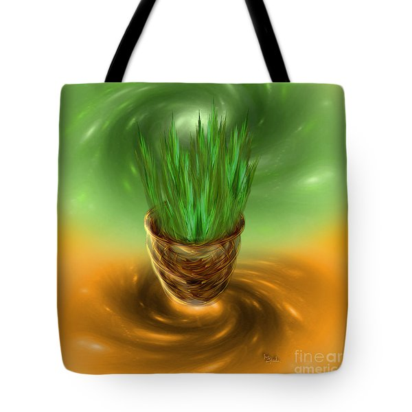 Surrealistic Art - Oneness With The Universe - By Rgiada Tote Bag by Giada Rossi