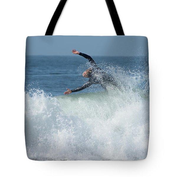 Surrender Tote Bag by Fraida Gutovich