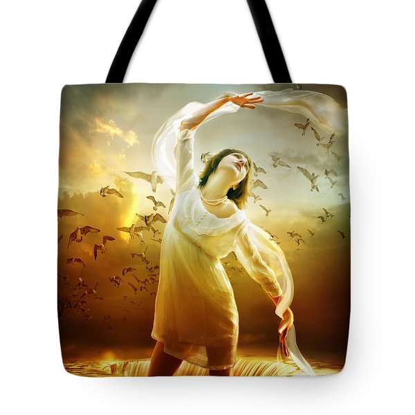 Surrender Tote Bag by Mary Hood