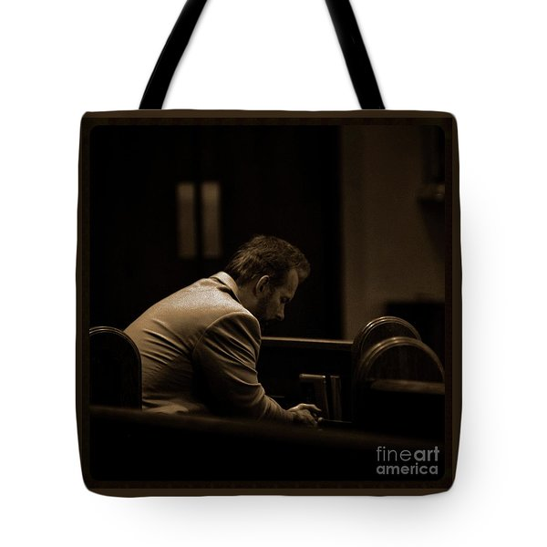 Surrender - Sqaure Tote Bag