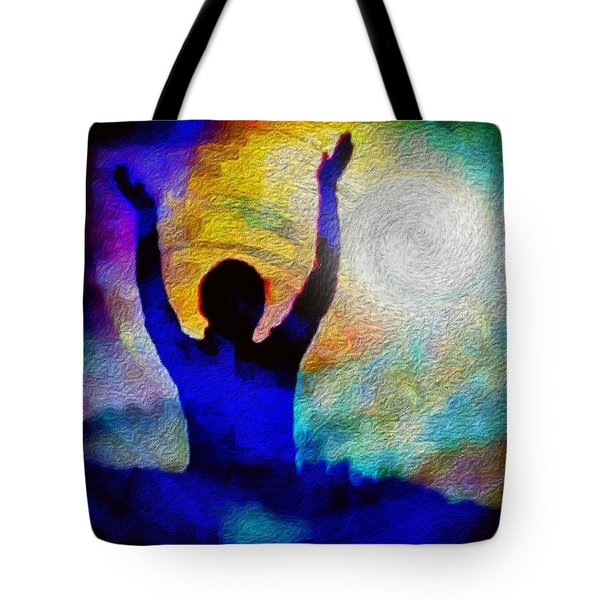 Surrender To Light Tote Bag