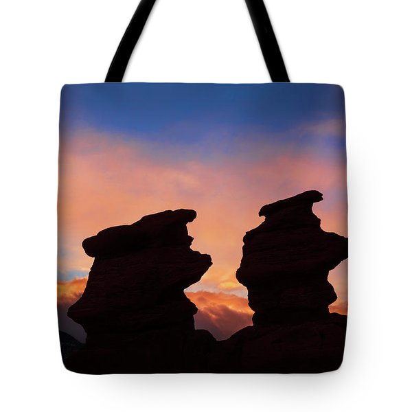 Surrender To The Infinite, Unbounded, Pure Consciousness  Tote Bag