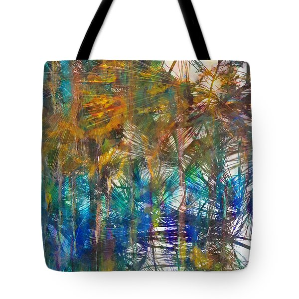 Surrender To The Light Tote Bag by Claire Bull