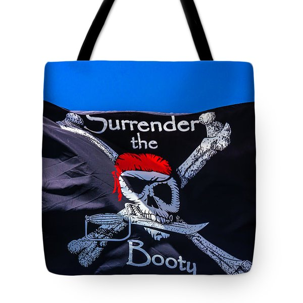 Surrenderthe Booty Flag Tote Bag