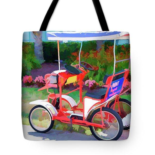 Surrey Bikes 2 Tote Bag