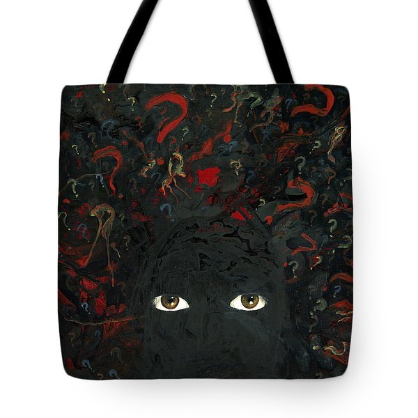 Surrounded By ? Tote Bag