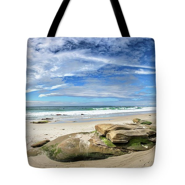 Tote Bag featuring the photograph Surrounded By Beauty by Peter Tellone