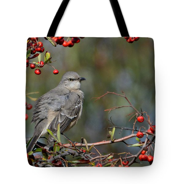 Surrounded By Berries Tote Bag
