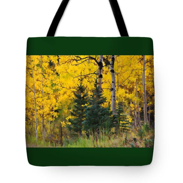 Surrounded By Gold Tote Bag
