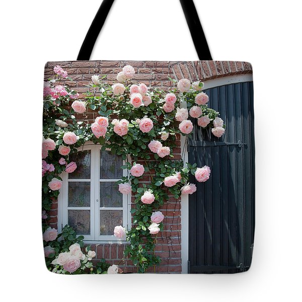 Surrounded By Roses Tote Bag by Aiolos Greek Collections