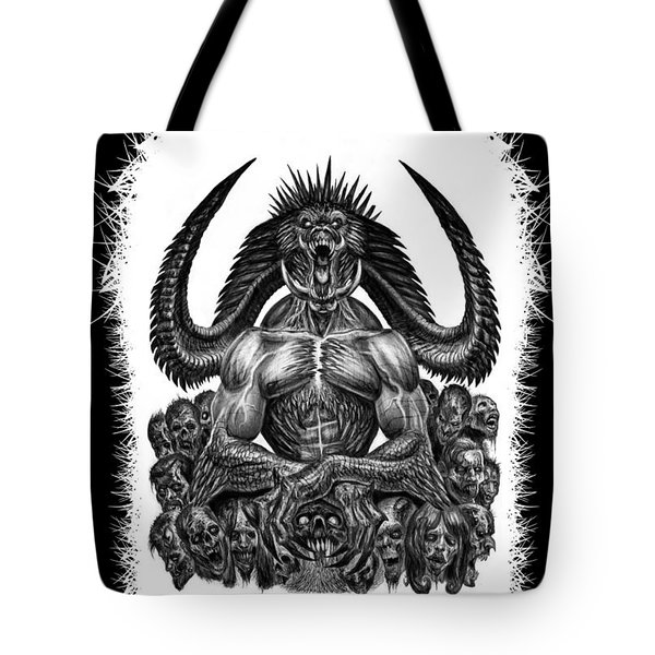 Surrounded By Sin Tote Bag by Tony Koehl