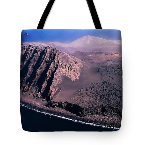 Surtsey In Iceland Tote Bag