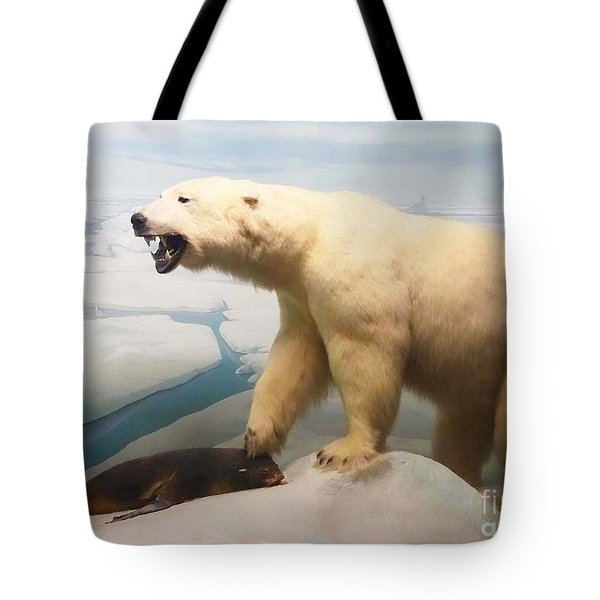 Survival Of The Fittest Tote Bag by Cindy Manero