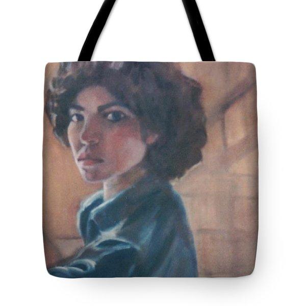 Susan Berger - Suzn Smith - Self Portrait Tote Bag