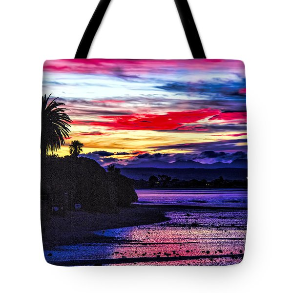 Suset Beach Tote Bag