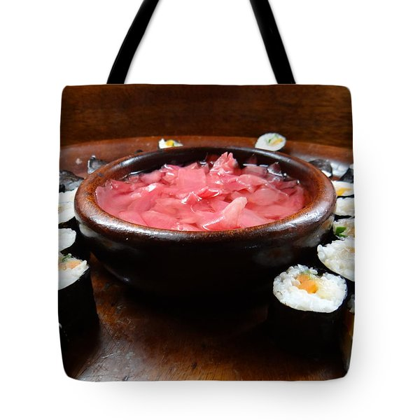 sushi Africa style Tote Bag