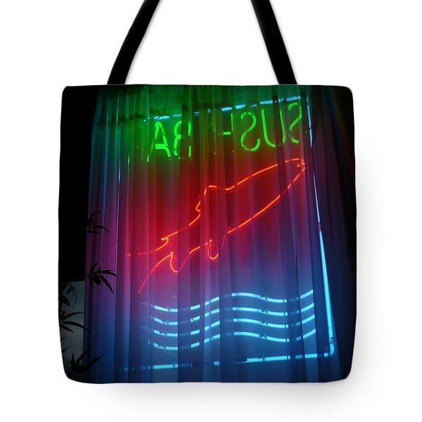 Sushi Bar Tote Bag by Jeff Breiman