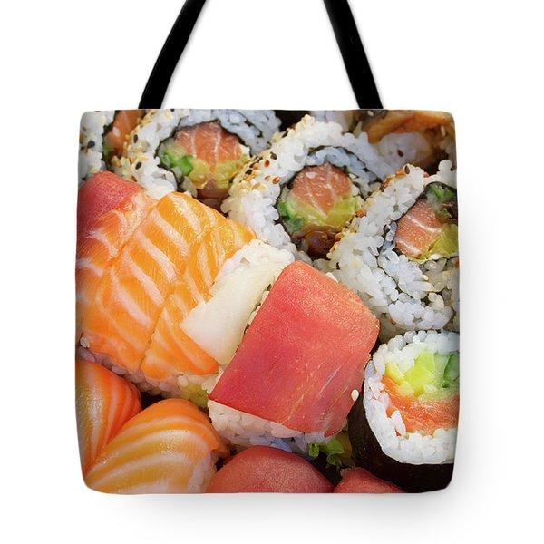 Sushi Dish Tote Bag by Anastasy Yarmolovich