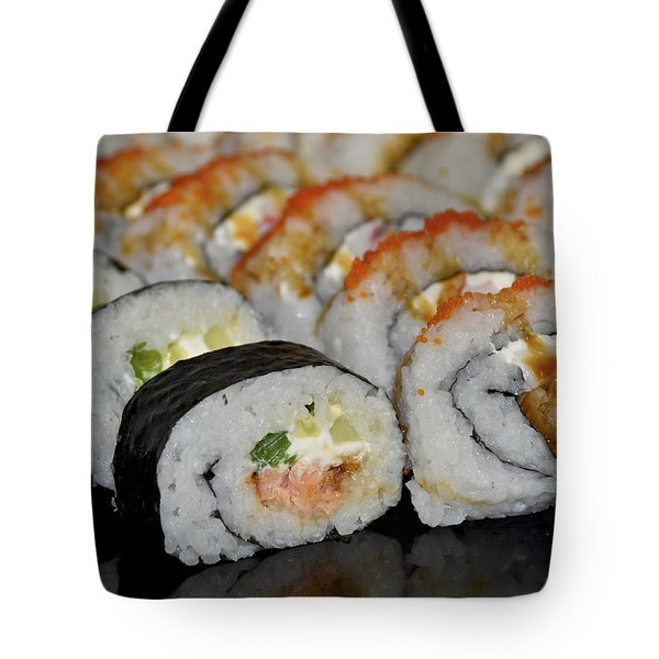 Sushi Rolls From Home Tote Bag