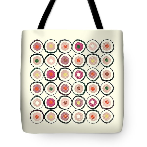 Sushi Tote Bag by Tonya Doughty