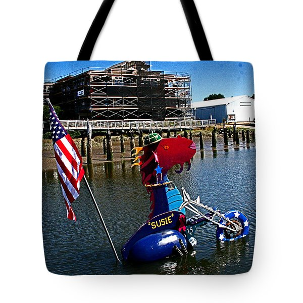 Susie Is A Lady -  Harbor Guardian Tote Bag