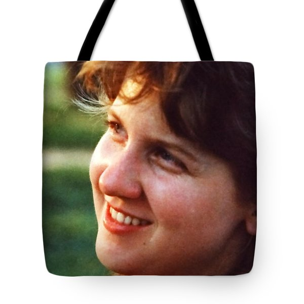 Tote Bag featuring the photograph Susie Z by Jesse Ciazza