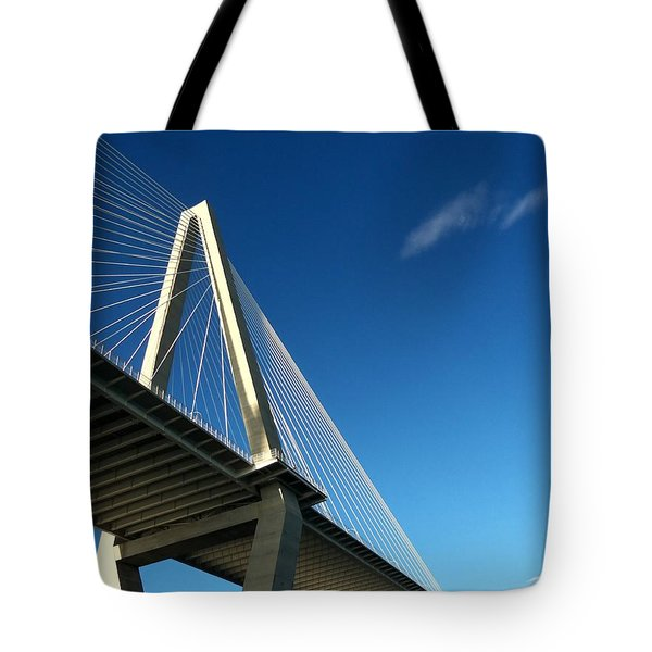 Suspended In The Sky Tote Bag