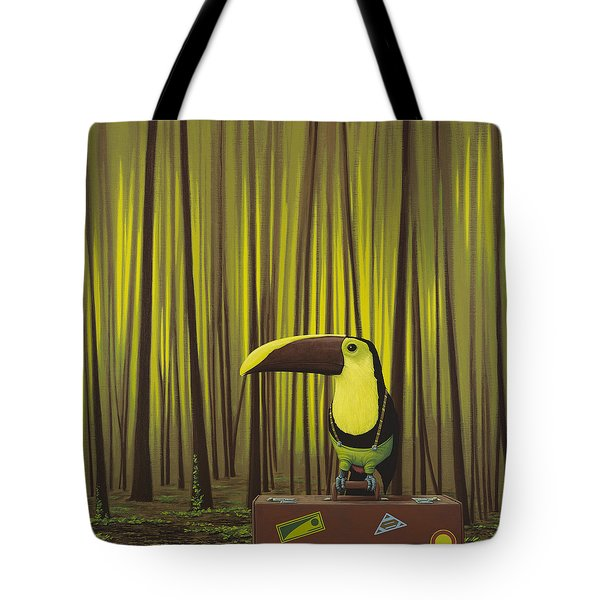 Suspenders Tote Bag by Jasper Oostland
