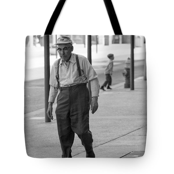 Suspenders Tote Bag
