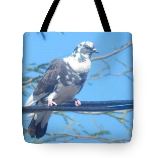 Suspicious Bird Tote Bag