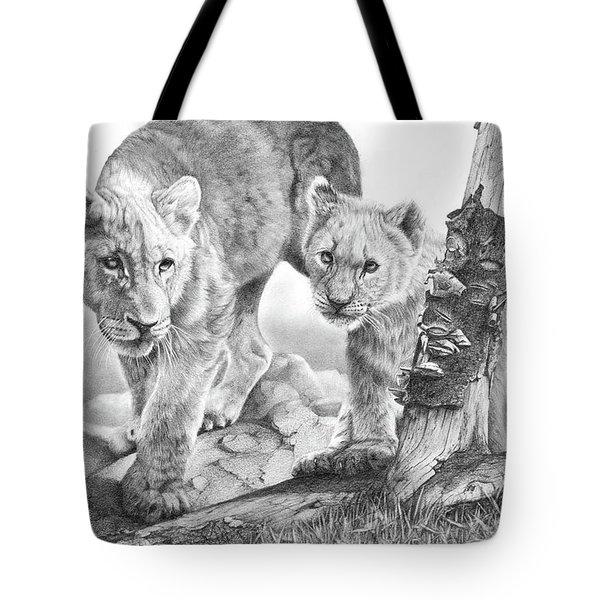 Suspicious Minds Tote Bag