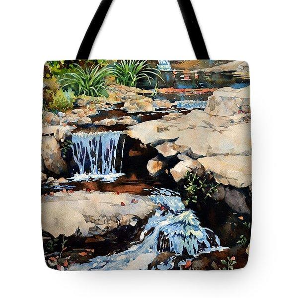 Susquehanna Falls Tote Bag