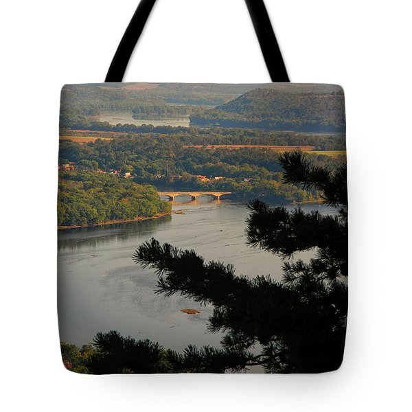 Susquehanna River Below Tote Bag