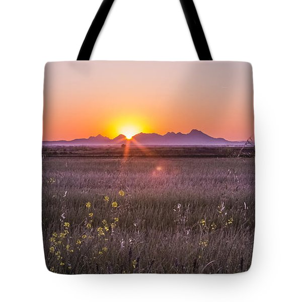 Sutter Buttes Tote Bag