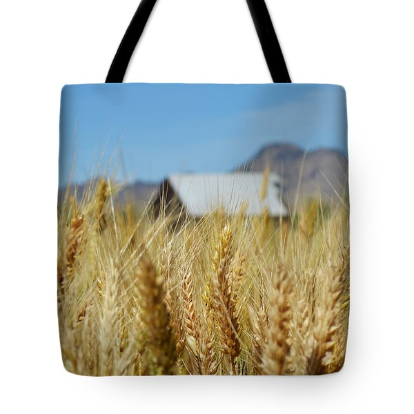 Sutter Buttes Wheat  Tote Bag