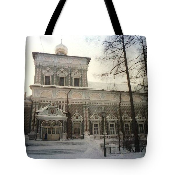 Suzdal  Russia Church Tote Bag by Ted Pollard