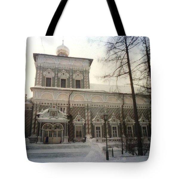 Suzdal  Russia Church Tote Bag