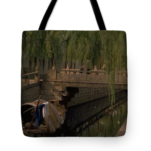 Suzhou Canals Tote Bag