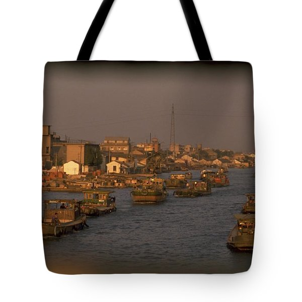 Suzhou Grand Canal Tote Bag