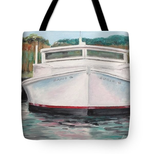 Suzie Q Tote Bag by Stan Tenney