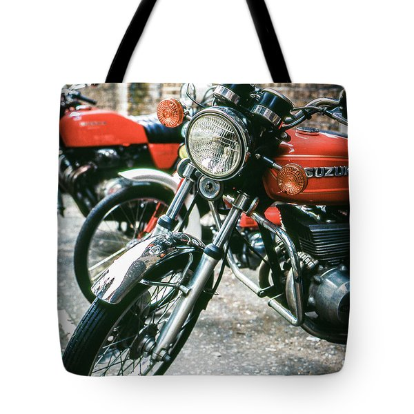 Tote Bag featuring the photograph Suzuki by Samuel M Purvis III