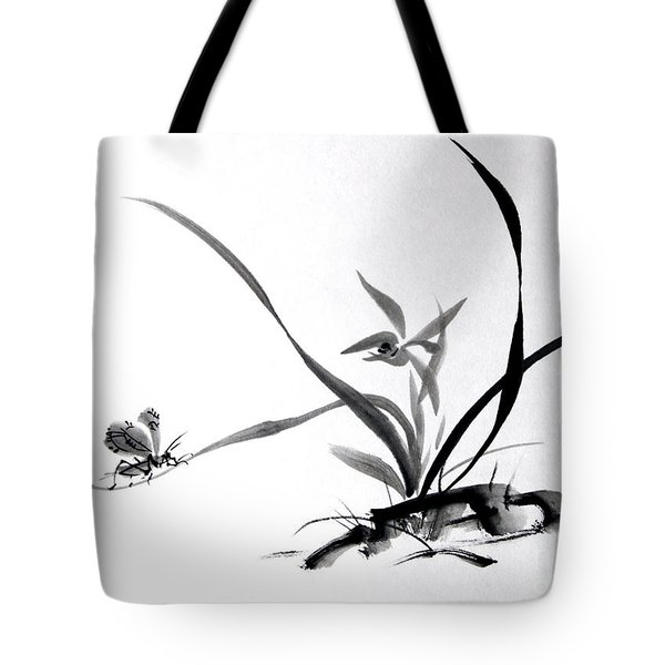 Suzumushi/ Sounds Of Fall Tote Bag