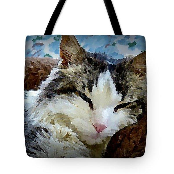 Suzy Face Tote Bag