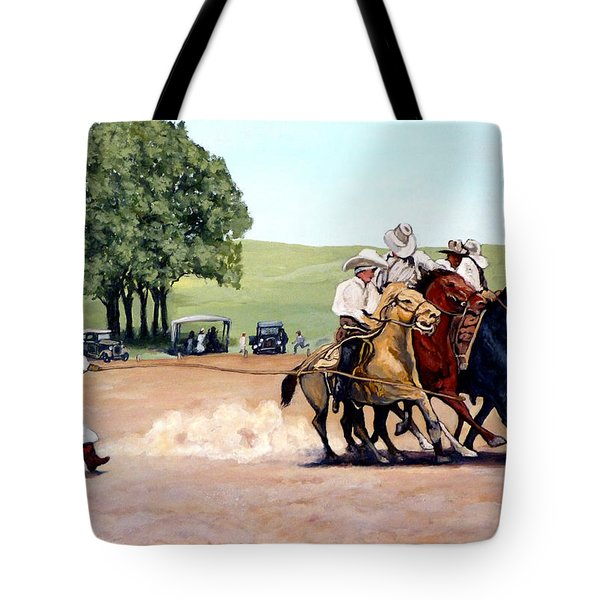 Suzzi Q. Whirling The Rope Tote Bag