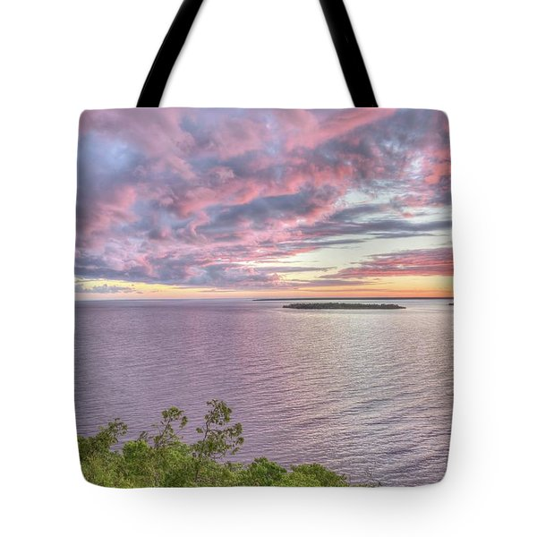 Sven's Bluff Sunset Tote Bag