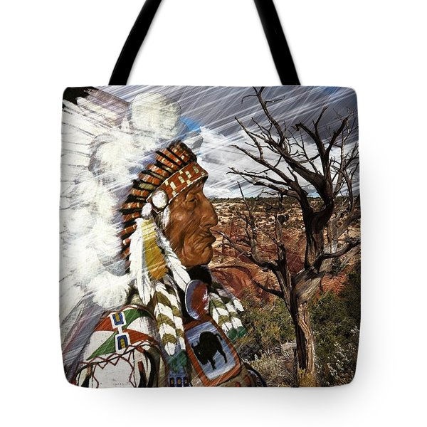 Sw Indian Tote Bag by Liane Wright