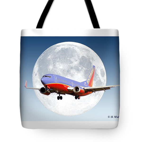Sw Moon Tote Bag