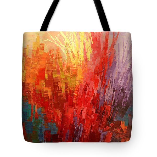 Tote Bag featuring the painting Swagger Of A Troubador by Tatiana Iliina