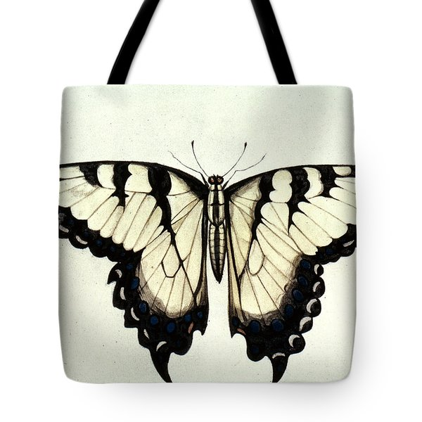 Swallow-tail Butterfly Tote Bag by Granger