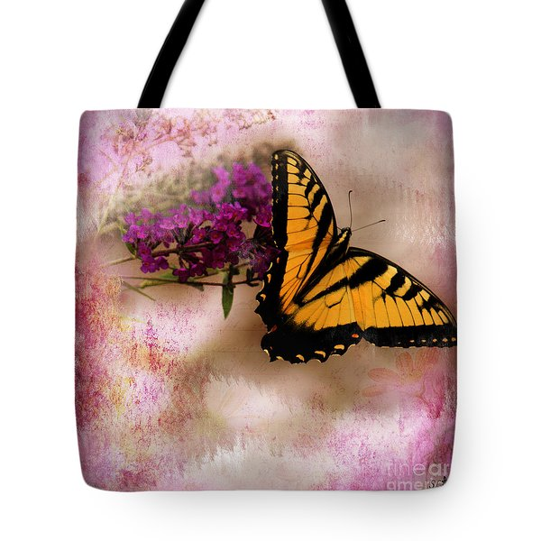Swallow Tail Full Of Beauty Tote Bag